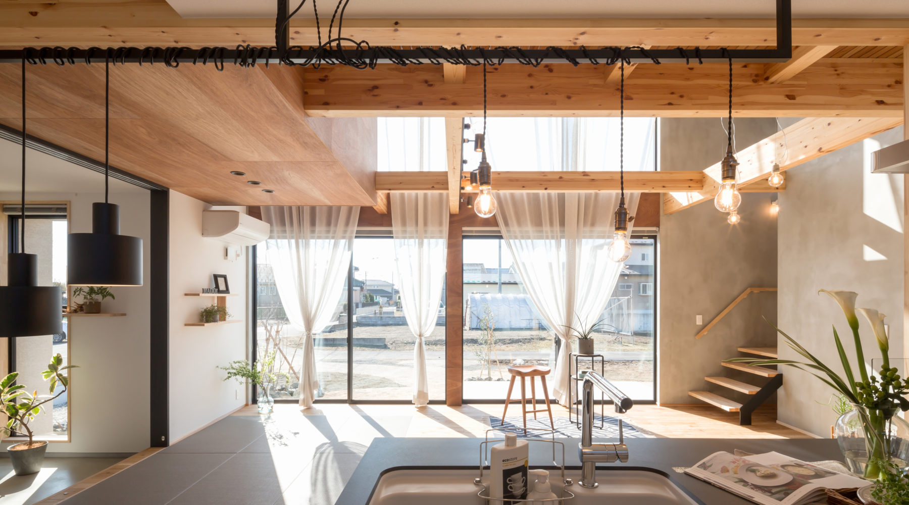 株式会社 建舎団居 STUDIO MADOI 蒲生の家 2021/1 竣工